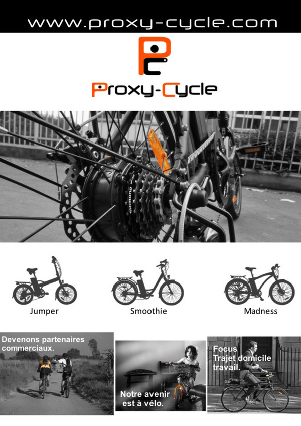 Proxy Cycle Benelux - catalogue 2014 - A magazine created