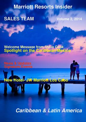 Marriott Resorts Insider- 2014