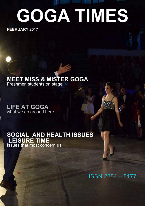 Goga Times - February 2017 - A magazine created with Madmagz