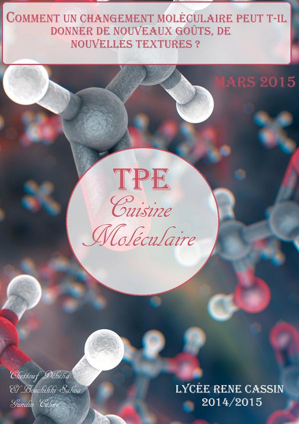 tpe : cuisine moléculaire - 1 - magazine créé avec madmagz